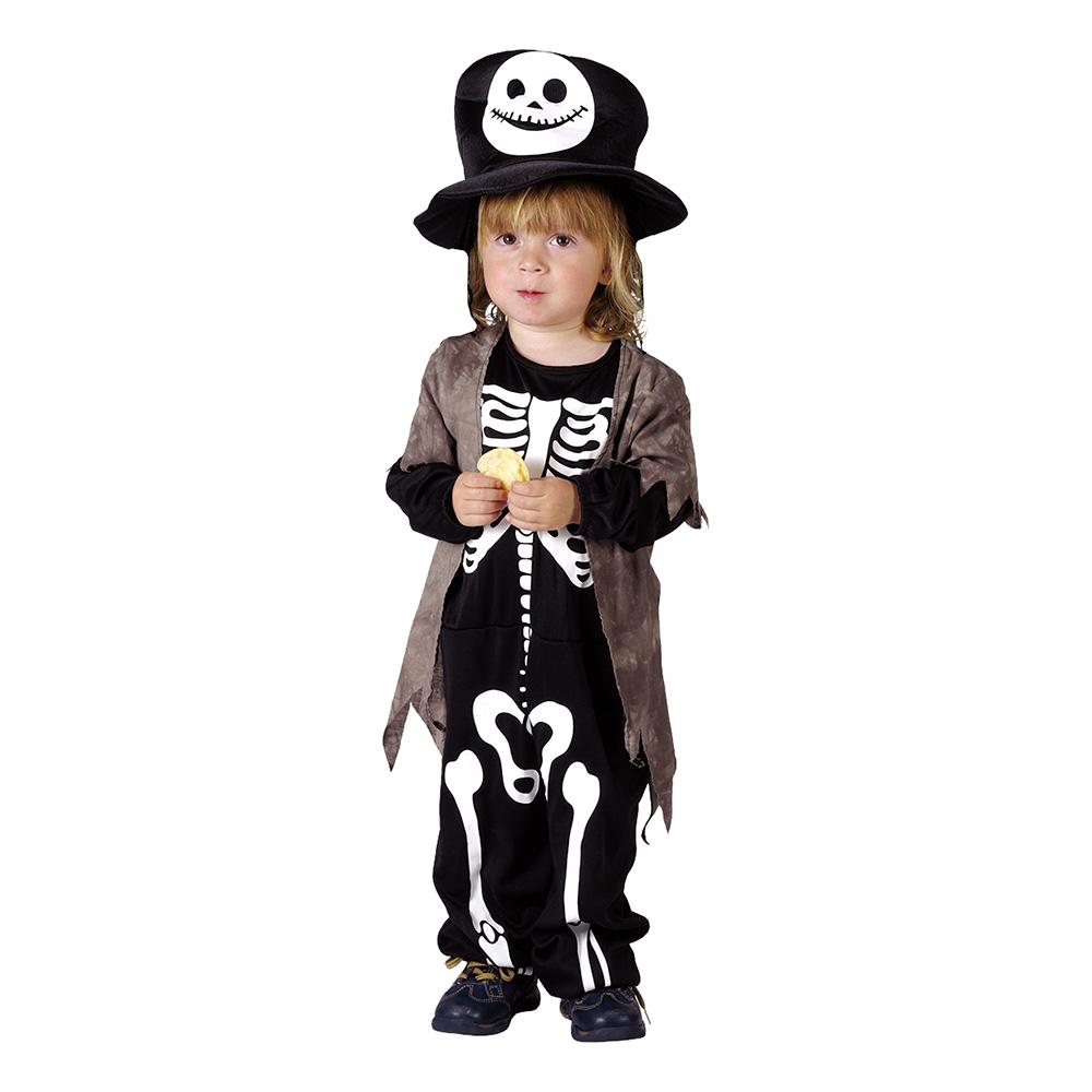 Miniskelett Barn Maskeraddräkt - One size