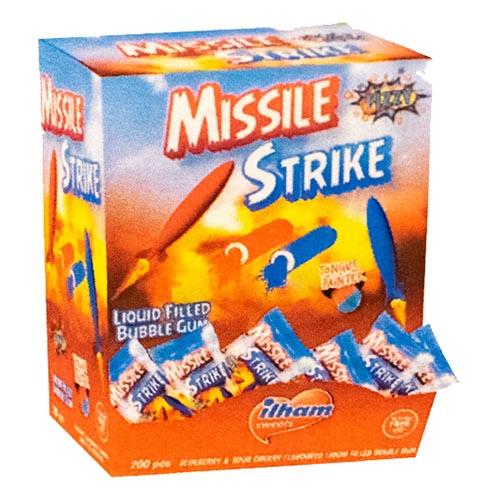 Missile Strike Bubble Gum - 200-pack