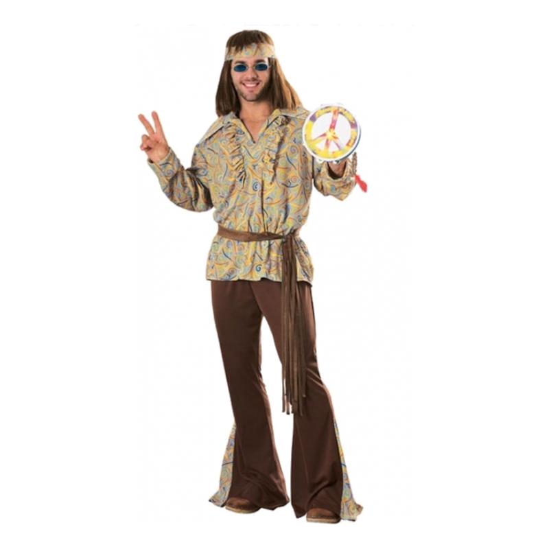 Mod Marvin Hippie Maskeraddräkt - Standard