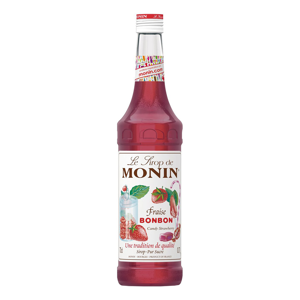 Monin Candy Strawberry Syrup - 70 cl