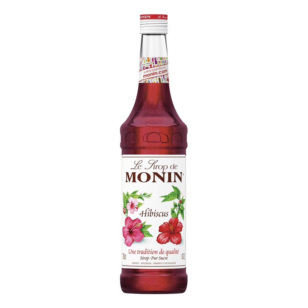 Monin Hibiscus Syrup - 70 cl