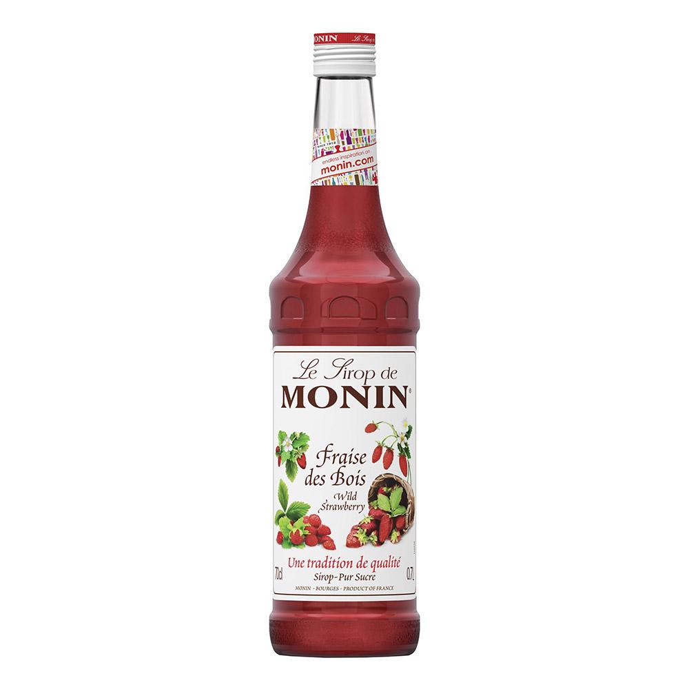 Monin Wild Strawberry Syrup - 70 cl