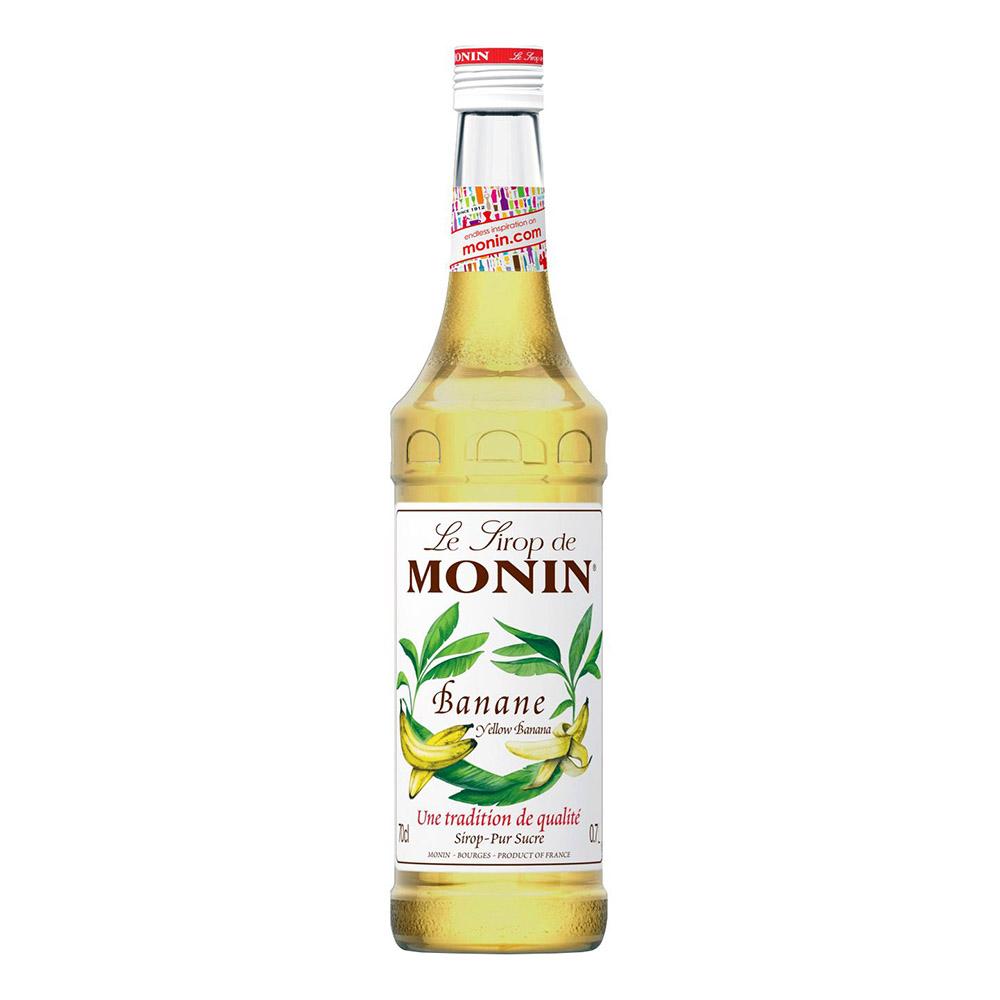 Monin Yellow Banana Syrup - 70 cl | Hem//Bartillbehör//Drinktillbehör//Drinkmixar | Partyoutlet