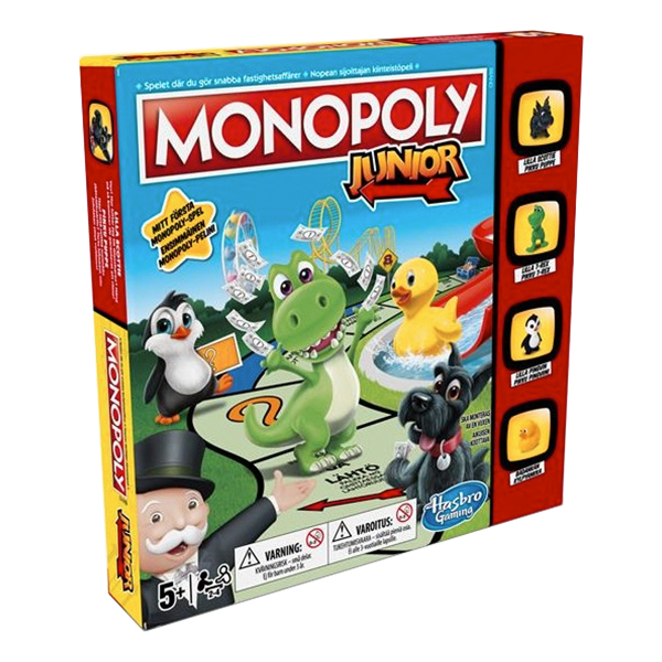 Monopol Junior Brädspel