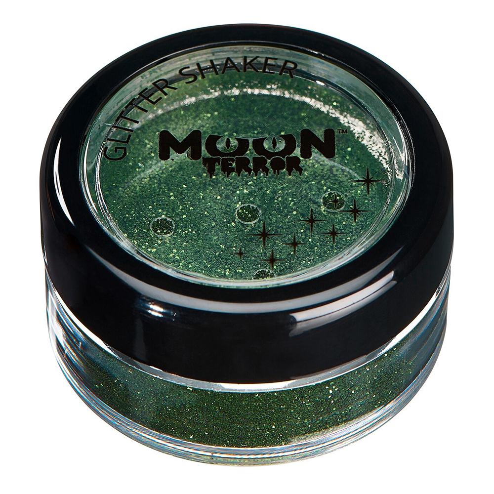 Moon Creations Halloween Glitter Shakers - Zombie Green