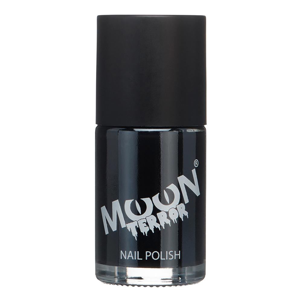 Moon Creations Halloween Nagellack - Midnight Black