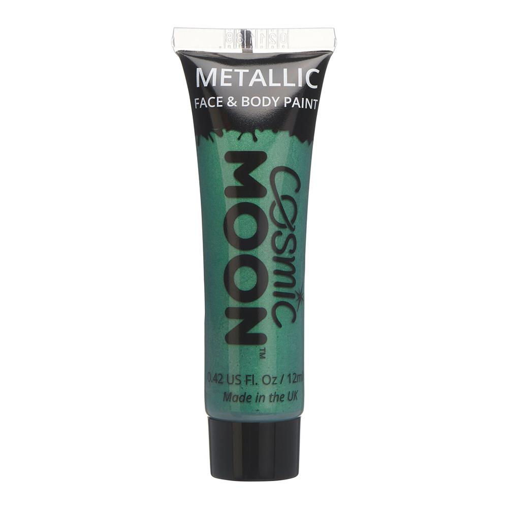 Moon Creations Metallic Ansikts- & Kroppsfärg - Grön