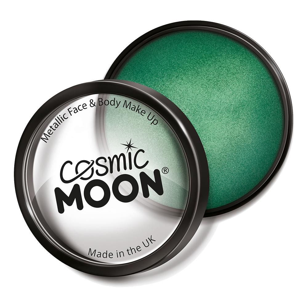 Moon Creations Metallic Pro Ansikts- & Kroppsfärg - Grön