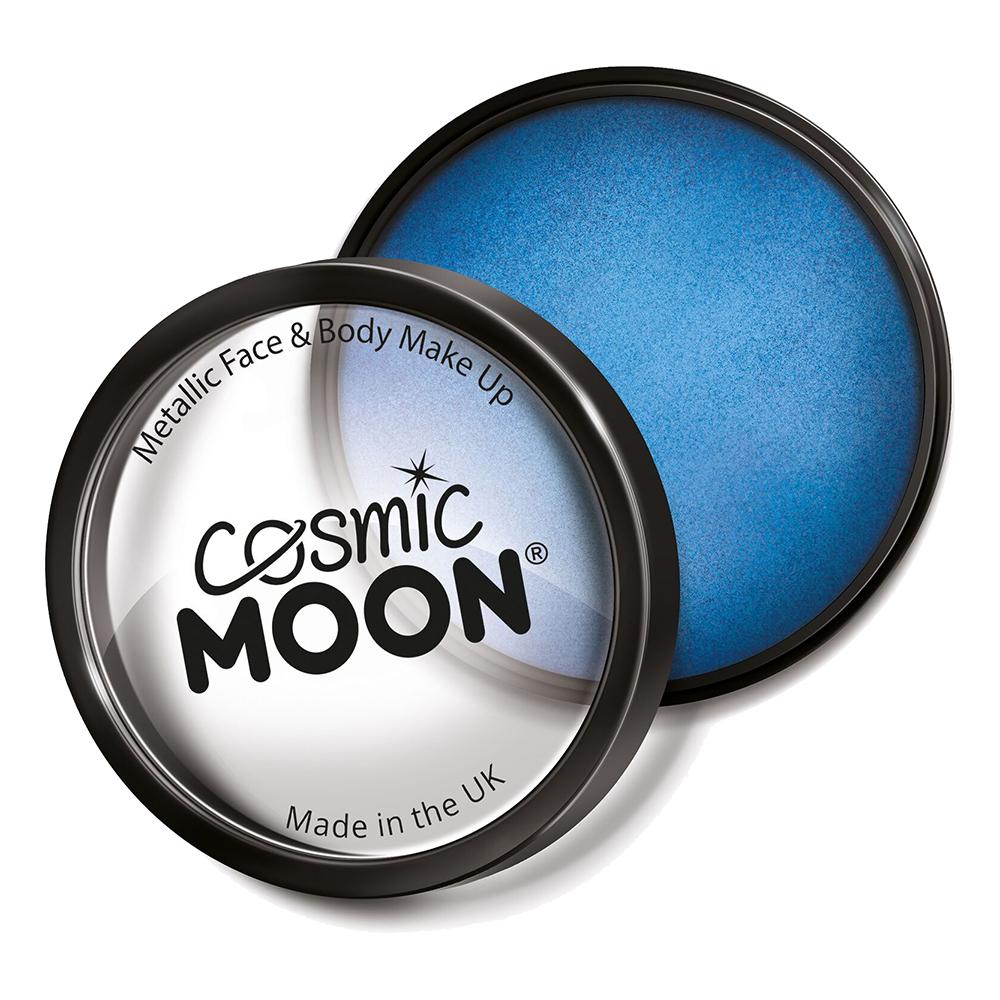 Moon Creations Metallic Pro Ansikts- & Kroppsfärg - Blå