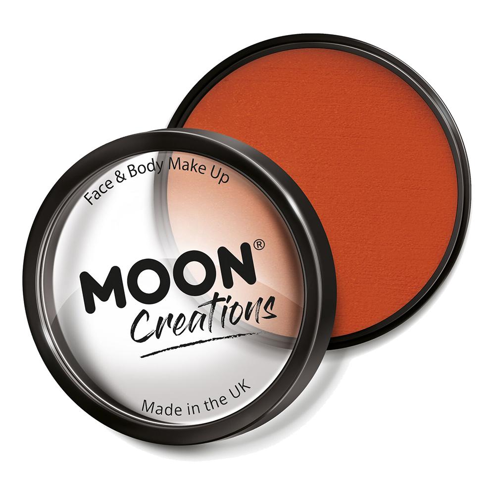 Moon Creations Pro Ansikts- & Kroppsfärg - Mörkorange
