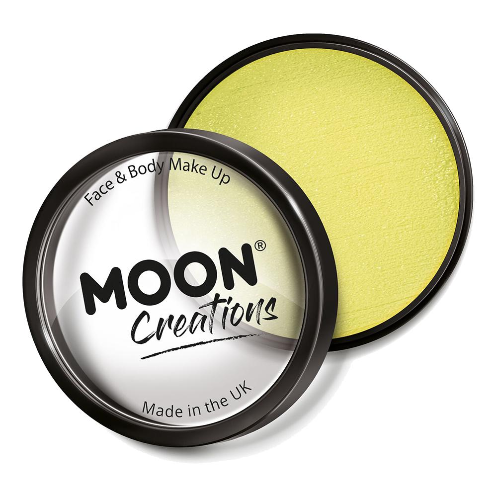 Moon Creations Pro Ansikts- & Kroppsfärg - Ljusgul