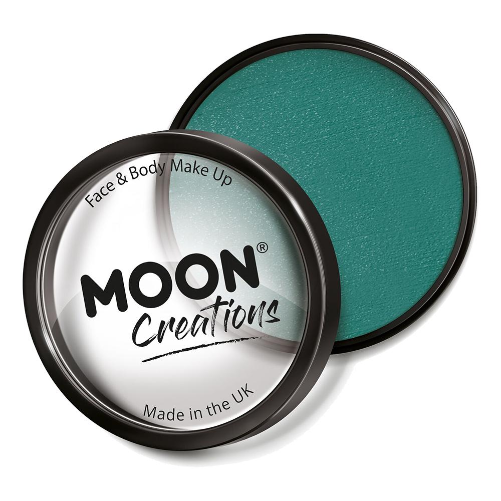 Moon Creations Pro Ansikts- & Kroppsfärg - Blågrön