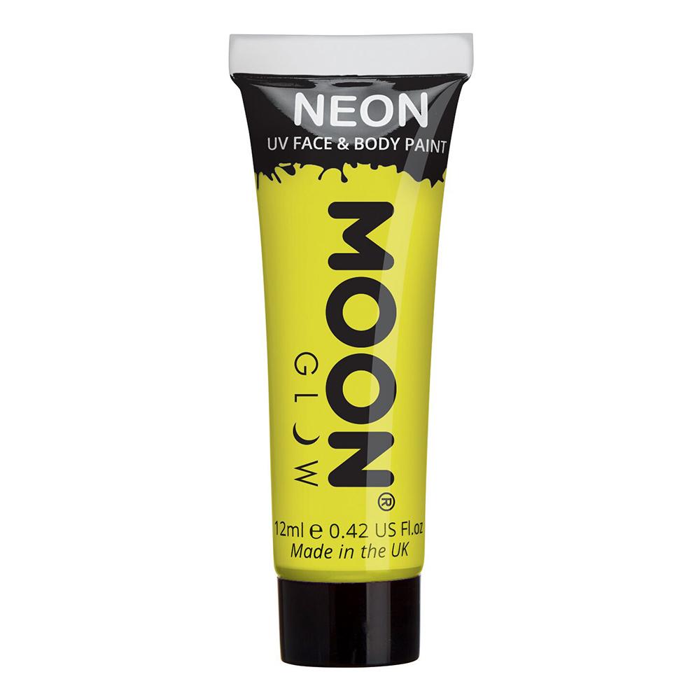 Moon Creations UV Neon Ansikts- & Kroppsfärg - Gul