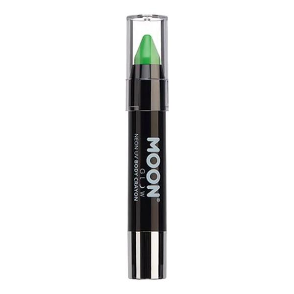 Moon Creations UV Neon Kroppskrita - Grön