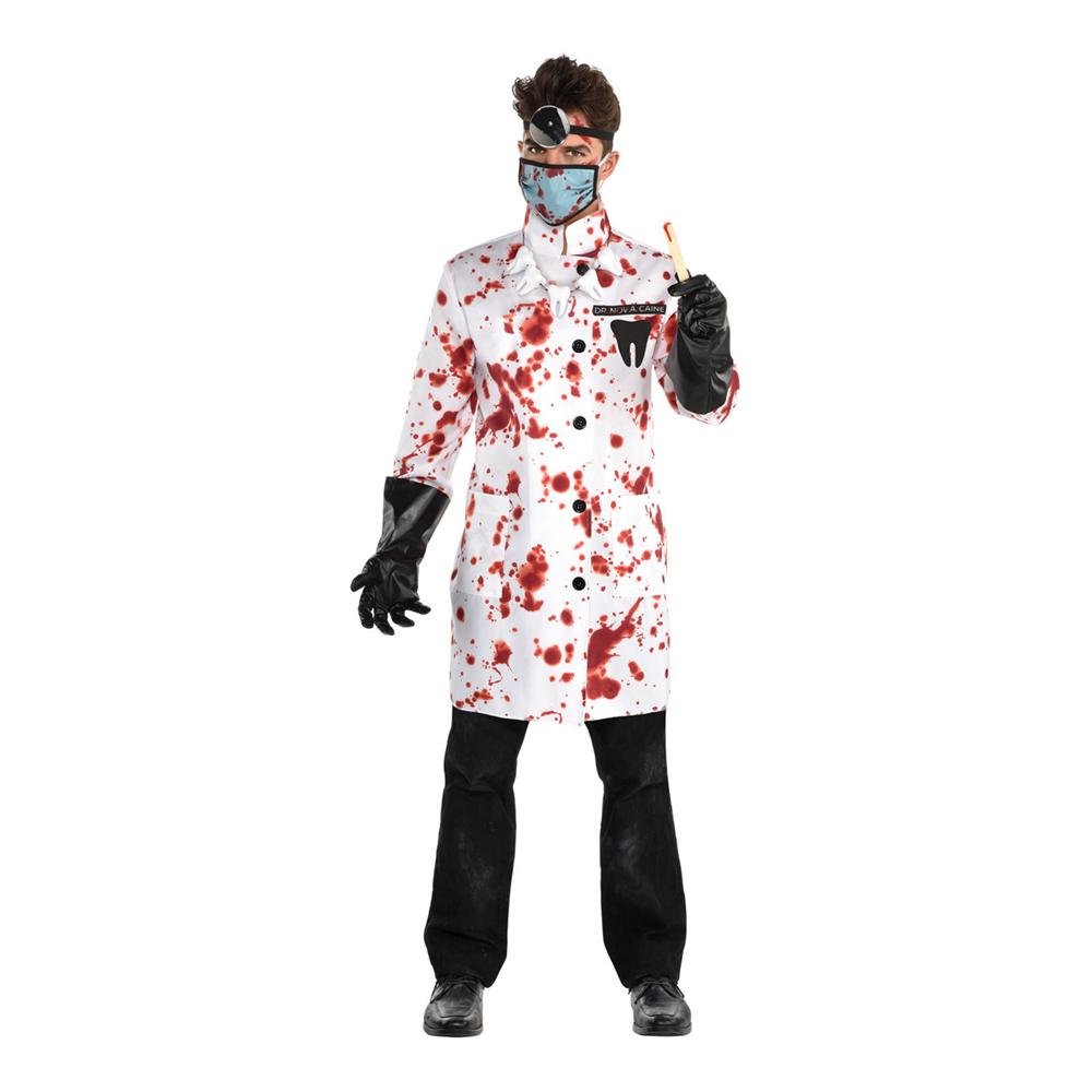 Mordisk Tandläkare Maskeraddräkt - Medium/Large