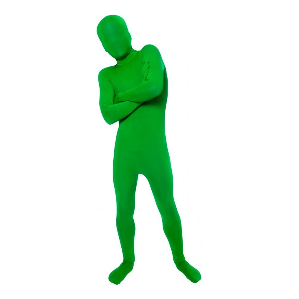Utklädningsdräkter - Morphsuit Grön Barn Maskeraddräkt - Large
