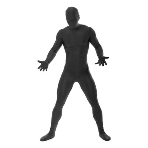 Morphsuit Svart Maskeraddräkt - Large