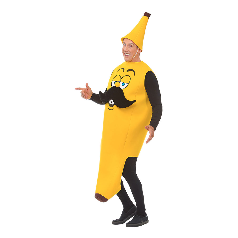 Mr Banana Maskeraddräkt - One size