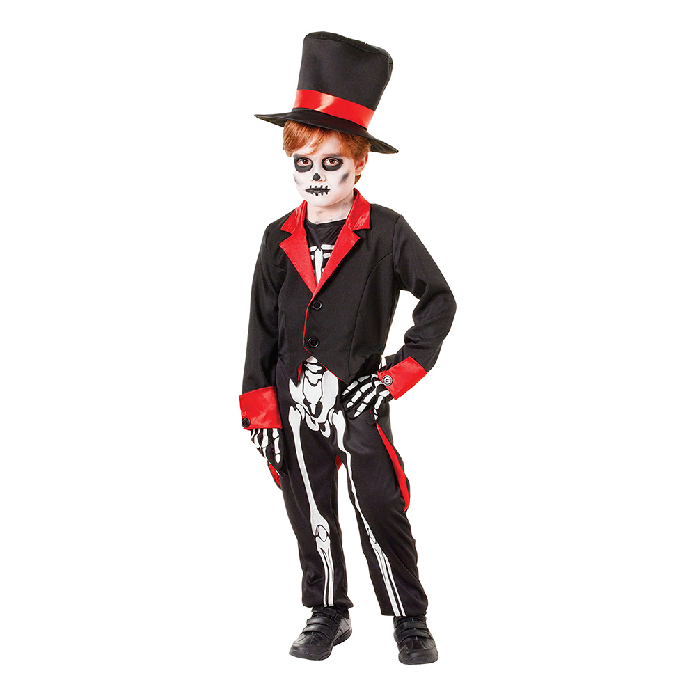 Mr Bone Jangles Barn Maskeraddräkt - Medium