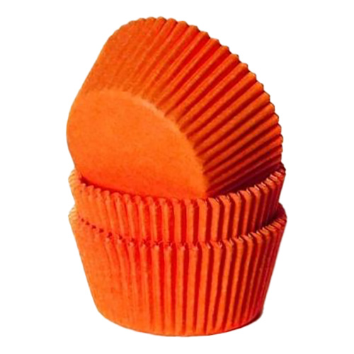 Muffinsformar Orange - 50-pack