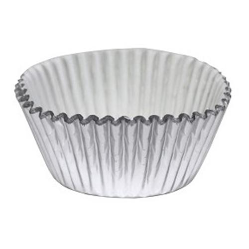 Muffinsformar Silver Metallic - 30-pack