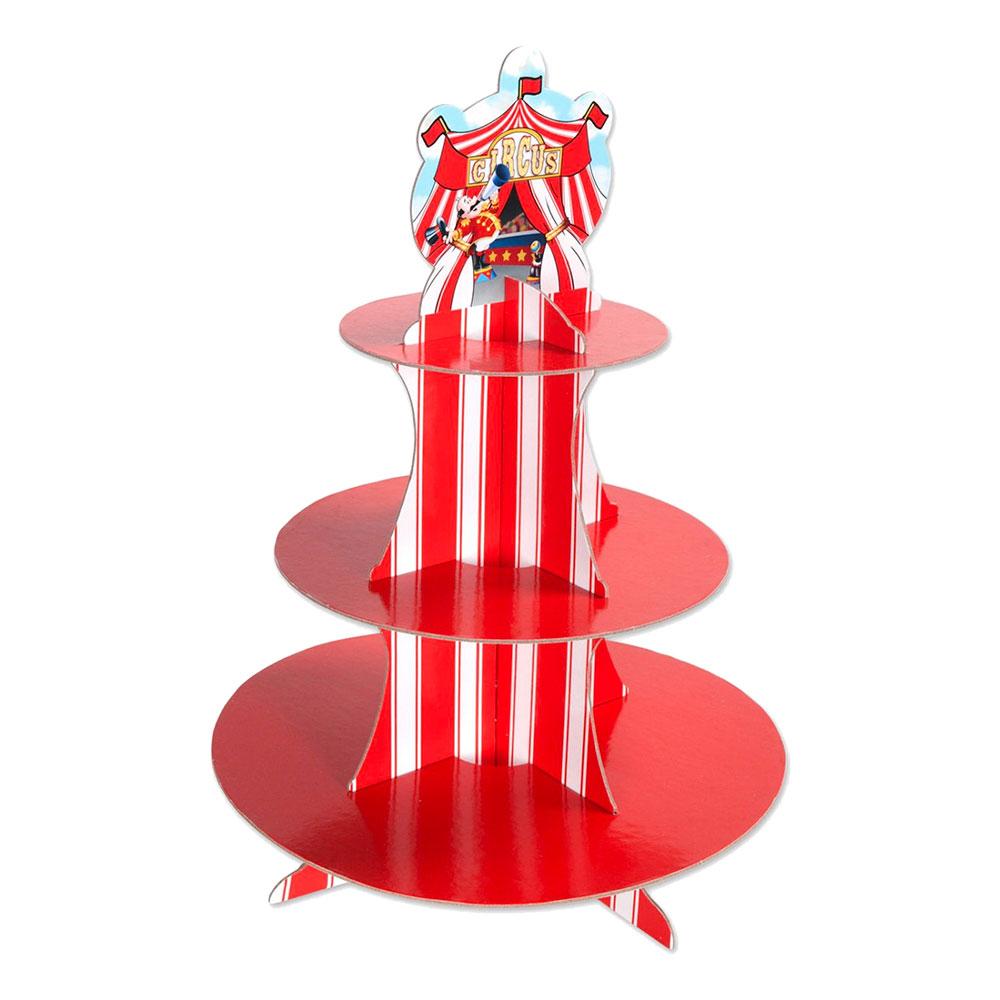 Muffinsställ Cirkus