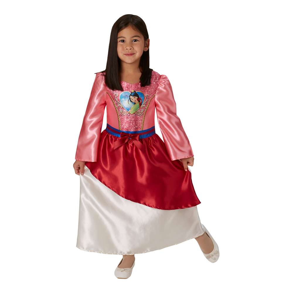 Mulan Barn Paljettklänning - Medium