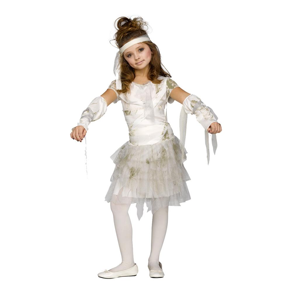 Mumieklänning Barn Maskeraddräkt - Medium