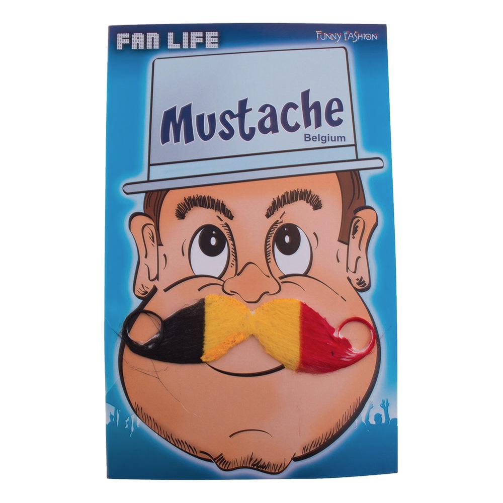 Mustasch Belgien
