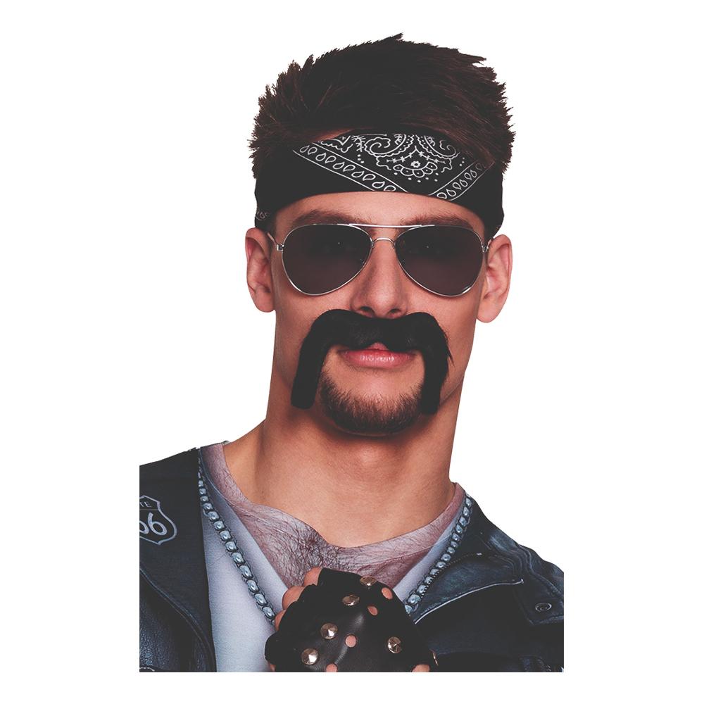 Mustasch Biker