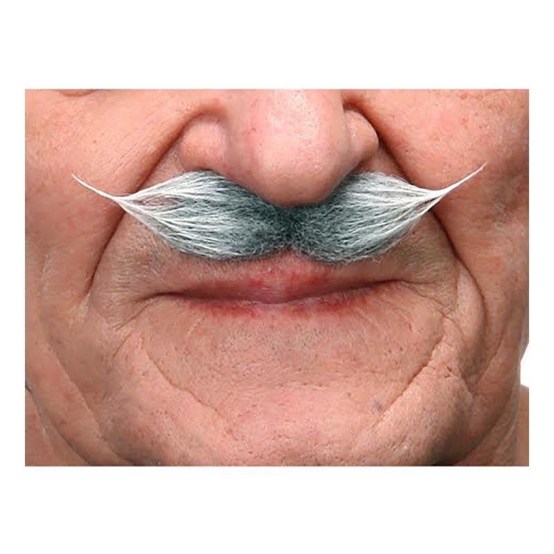 Mustasch Gentlemen Grå