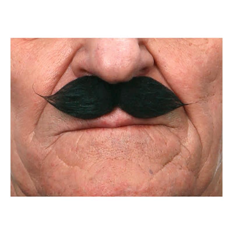 Mustasch Gentlemen Svart