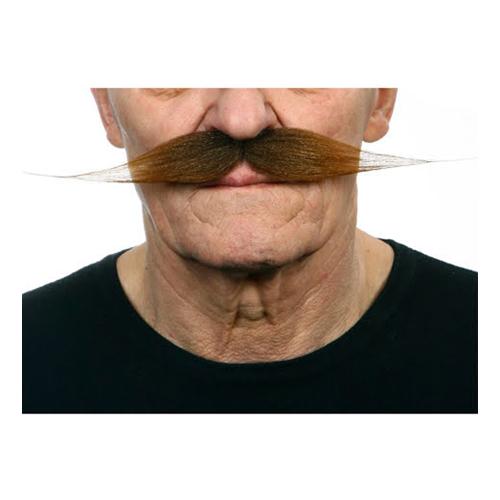 Mustasch Vaxad Brun