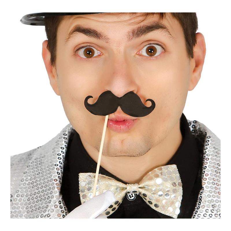 Mustascher på Pinne - 6-pack