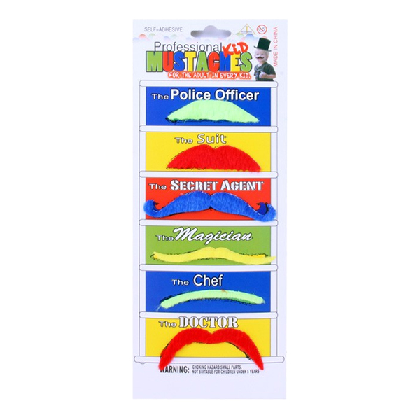 Mustascher UV - 6-pack
