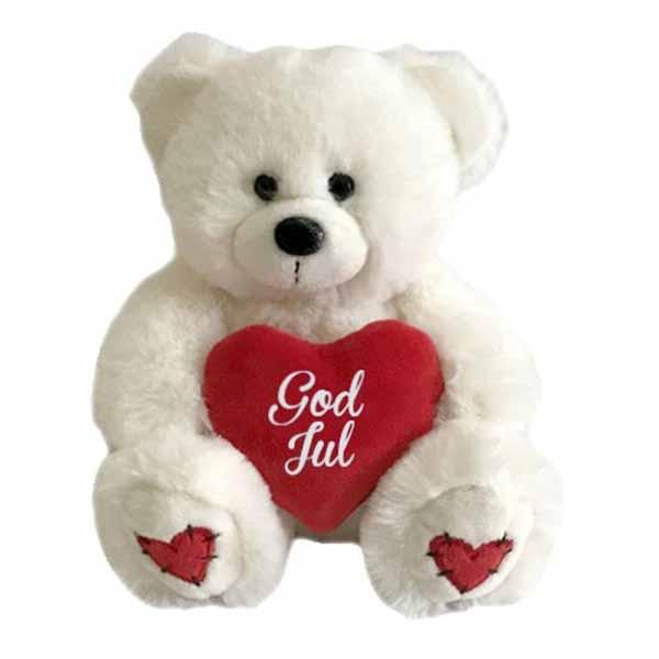 Nalle med Hjärta God Jul