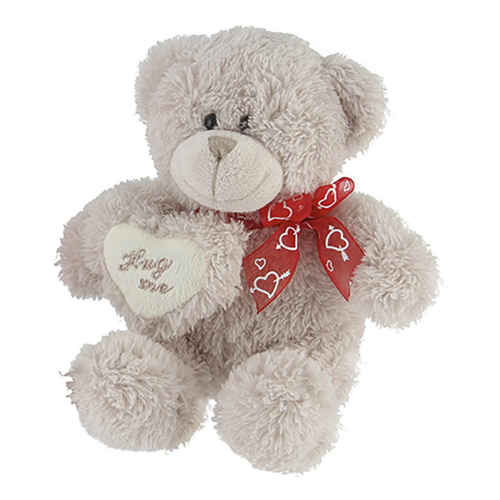 Nallebjörn Beige med Hjärta