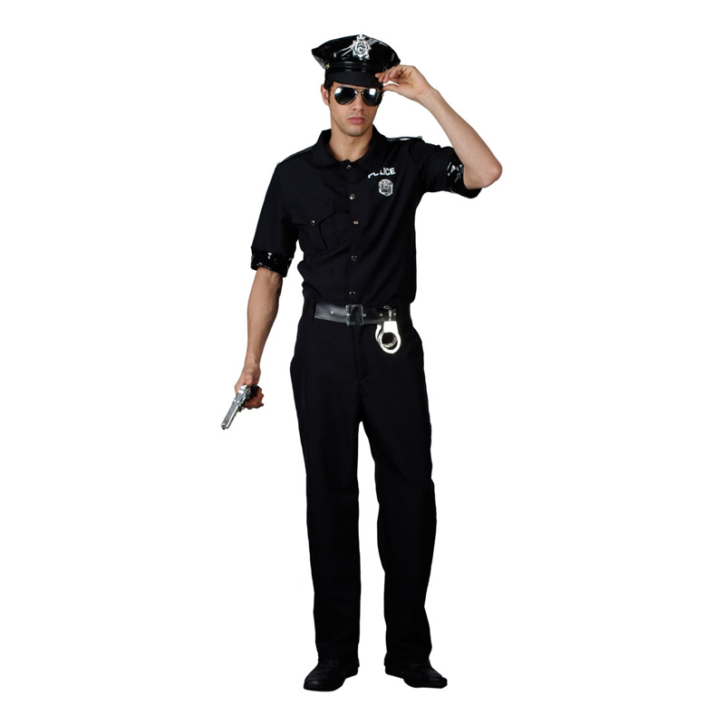 New York Polis Maskeraddräkt - Small