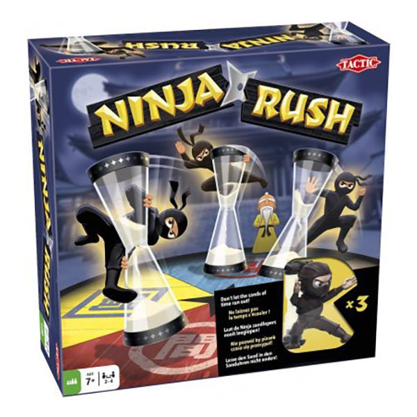 Ninja Rush Familjespel