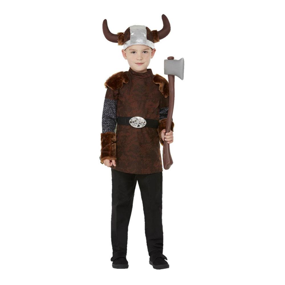 Nordisk Viking Barn Maskeraddräkt - Small
