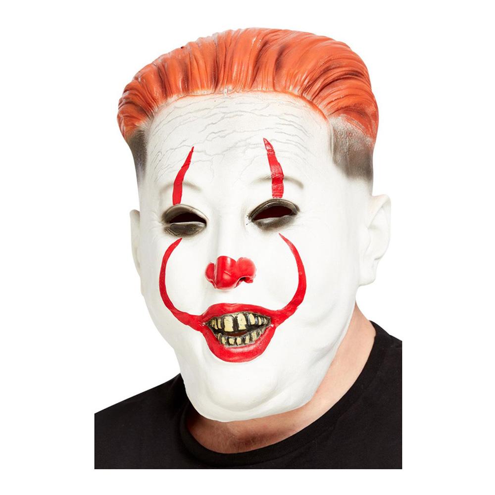 Nordkoreansk Clown Mask - One size