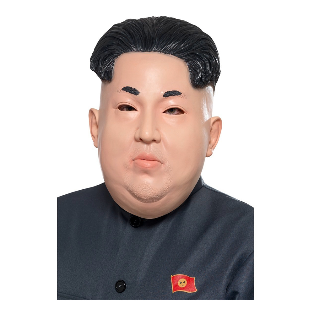 Nordkoreansk Diktator Mask - One size