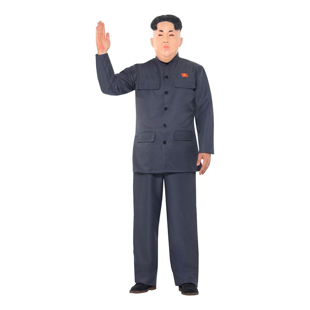 Nordkoreansk Diktator Maskeraddräkt - Medium