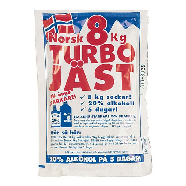 Norsk Turbojäst - 8 kg