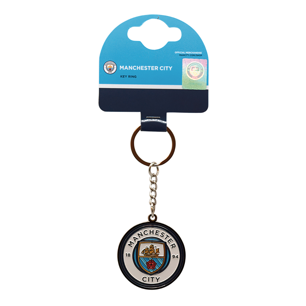 Nyckelring Manchester City