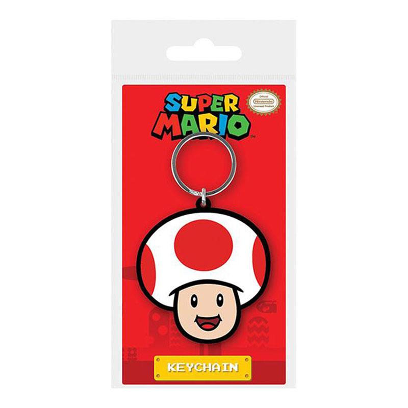 Nyckelring Super Mario Toad