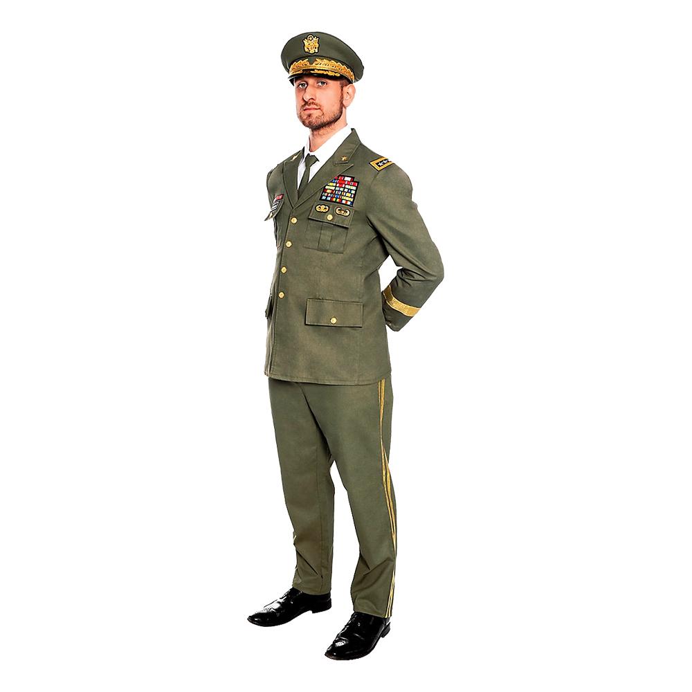 Officerare Deluxe Maskeraddräkt - Small