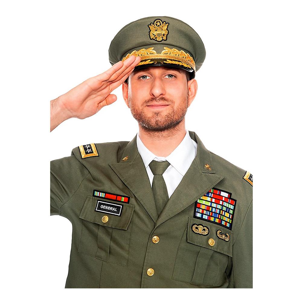 Officerare Hatt för Vuxna - One size