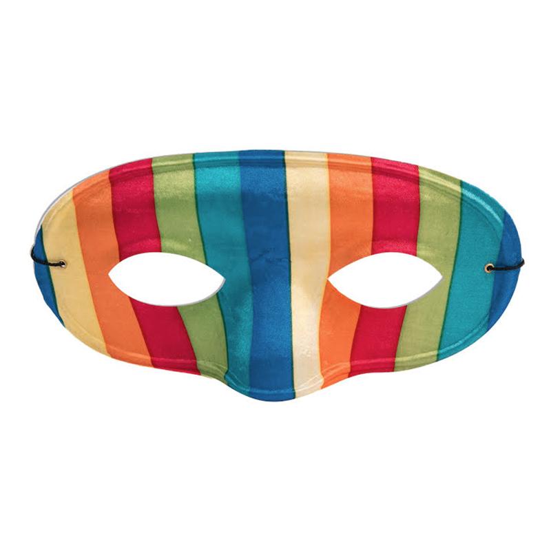 Ögonmask Domino Regnbåge - One size
