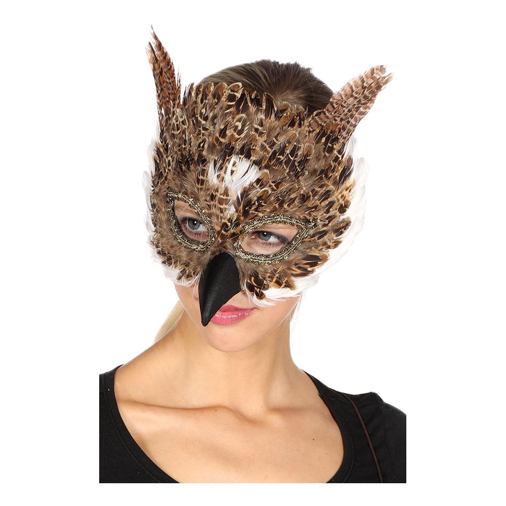 Djurmasker - Ögonmask Uggla - One size